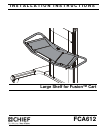 CHIEF FCA612 Racks & Stands Manual (8 pages)