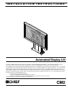 CHIEF CM2L40 Racks & Stands Manual (30 pages)