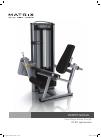 Matrix VS-S71 Home Gym Manual (17 pages)