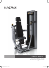 Matrix VS-S13 Home Gym Manual (17 pages)