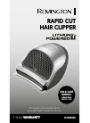 Remington HC4250AU Hair Clipper Manual (12 pages)