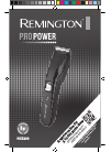 Remington ProPower HC5200 Hair Clipper Manual (5 pages)