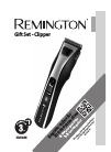 Remington HC-5355 Hair Clipper Manual (10 pages)