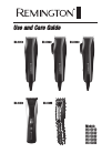 Remington HC-5010 Hair Clipper Manual (13 pages)