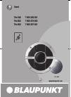 Blaupunkt THc 542 DJ Equipment Manual (14 pages)