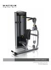 Matrix VS-S53 Home Gym Manual (32 pages)