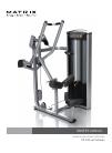 Matrix VS-S33 Lat Pulldown Home Gym Manual (28 pages)