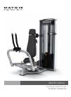 Matrix VS-S22 Home Gym Manual (32 pages)