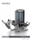 Matrix G7-S73 Home Gym Manual (26 pages)