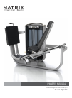 Matrix G7-S70 Home Gym Manual (25 pages)