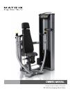 Matrix VS-S13 Home Gym Manual (32 pages)
