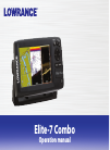 Lowrance Elite-7 Broadband Fish Finder Manual (56 pages)