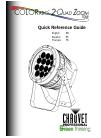 Chauvet COLORado 2-Quad Zoom IP DJ Equipment Manual (36 pages)