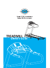 Horizon Fitness Omega III HRC Entertainment Treadmill Manual (39 pages)