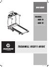 Horizon Fitness ROJO T4 Treadmill Manual (14 pages)