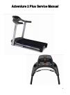 Horizon Fitness Adventure 3 Plus Treadmill Manual (13 pages)