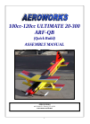 AeroWorks ULTIMATE 20-300 ARF-QB Toy Manual (94 pages)