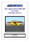 AeroWorks Sport Cub S2 ARF-QB Toy Manual (86 pages)