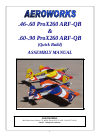 AeroWorks ProX260 ARF-QB Toy Manual (40 pages)
