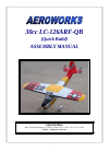 AeroWorks LC-126ARF-QB Toy Manual (103 pages)