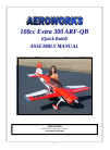 AeroWorks Extra 300 ARF-QB Toy Manual (78 pages)