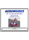 AeroWorks 60cc Freestyle 260 ARF QB-L Toy Manual (75 pages)