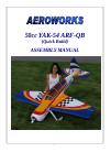 AeroWorks YAK 54 ARF-QB Toy Manual (80 pages)