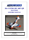 AeroWorks 30cc EXTRA 300 ARF-QB Toy Manual (101 pages)