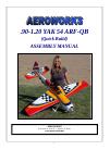AeroWorks .90-1.20 YAK 54 ARF-QB Toy Manual (76 pages)