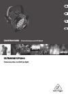 Behringer ULTRAPAR UP1200 DJ Equipment Manual (13 pages)