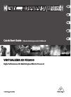 Behringer VIRTUALIZER 3D FX2000 DJ Equipment Manual (15 pages)
