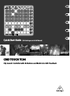 Behringer CMD TOUCH TC64 DJ Equipment Manual (11 pages)