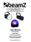 Beamz 153.736 DJ Equipment Manual (12 pages)