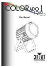 Chauvet COLORado 1 Solo DJ Equipment Manual (32 pages)