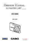 Casio EX S600 - EXILIM CARD Digital Camera Digital Camera Manual (32 pages)