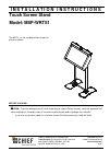 CHIEF MSP-WRTS1 Racks & Stands Manual (6 pages)