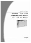 CHIEF MSP-BBST Racks & Stands Manual (12 pages)