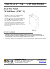 CHIEF GPM-110 Racks & Stands Manual (6 pages)