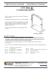 CHIEF CTV-3036 Racks & Stands Manual (14 pages)