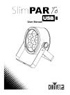 Chauvet SlimPar Q12 USB DJ Equipment Manual (18 pages)