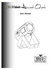 Chauvet Colordash Accent Quad DJ Equipment Manual (20 pages)