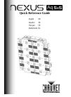 Chauvet Nexus Aq 5x5 DJ Equipment Manual (112 pages)