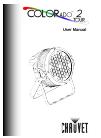 Chauvet ColorAdo 2 Tour DJ Equipment Manual (34 pages)