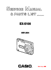 Casio EX S100 - EXILIM CARD Digital Camera Digital Camera Manual (31 pages)