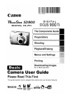 Canon PowerShot SD900 Digital Camera Manual (365 pages)