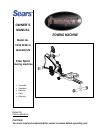 Free Spirit C249 29351 0 Home Gym Manual (20 pages)