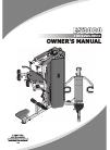 Impulse ES3000 Home Gym Manual (76 pages)