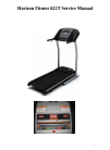 Horizon Fitness 622T Treadmill Manual (16 pages)