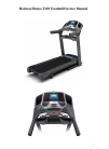 Horizon Fitness T303 Treadmill Manual (15 pages)