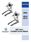 Horizon Fitness RST 5.6 Treadmill Manual (28 pages)